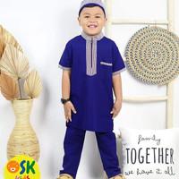 stelan koko turki pakistan baju muslim anak laki laki kids