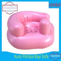 Kursi Sofa Tiup Tempat Duduk Bayi Balon Motif Binatang Infant Seatkupu