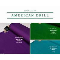 Kain American Drill - Bahan Seragam Kantor Kerja Sekolah High Quality