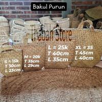 Bakul Purun / Cover Pot /Anyaman Purun / Kerajinan Tangan