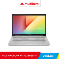 ASUS VIVOBOOK K413EQ EB551TS I5 1135G7 8GB 512SSD MX350 FHD IPSW10 OHS