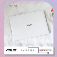 Laptop Asus X453MA Putih Intel Celeron N2840 14 inch Bekas Mulus