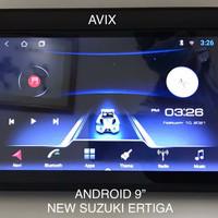 head unit android ram 2gb 32gb Avix oem ertiga 9 inch 10 inch canggih