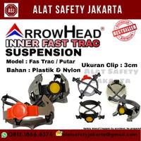 INNER FASTRACK Helm Arrow Head FSA Hitam Good Quality Helm Safety