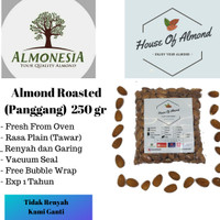 Kacang Almond Panggang Premium Almonesia 250gr