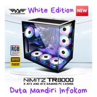 Armaggeddon Nimitz TR8000 White - Extended ATX Gaming Case