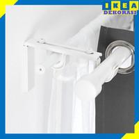 Ikea Betyd Braket Tiang Gorden Bahan Besi Baja Galvanis anti Karat