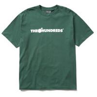 The Hundreds Forever Bar Logo Forest Green T Shirt || Resmi PT NAVYA