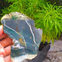 batu ijo klawing bahan akik bukan kalimaya opal garut saphire FB87