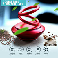Pengharum Mobil Double Ring Aromatherapy