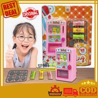Vending Machine My Little Client Mainan Edukasi Anak Mesin Minuman