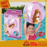 Bola Pantai Renang Anak Tiup Disney Princess Mainan Beach Ball