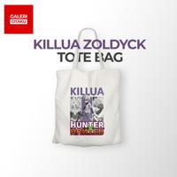 TOTE BAG KANVAS ANIME HUNTER X HUNTER / KILLUA ZOLDYCK / TOTEBAG ANIME