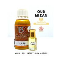 Bibit Parfum BO BANAFA For OUD OUDH MIZAN Import Arab Saudi Non Alkoho - 6 ml