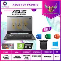 ASUS TUF A15 FX506IV 144Hz Ryzen 7 4800H 8GB 512ssd RTX2060 6GB W10