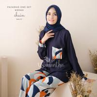 Pajamas Set / Piyama One Set Kemeja Chain