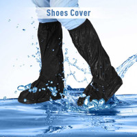 Cover Sarung Sepatu Anti Air Pelindung Hujan Motor - L
