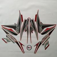 Striping Motor Honda Vario Techno 125 Fi 2013 Merah