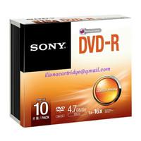 SONY DVD R 4.7 GB Case 10 pcs 1box