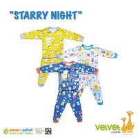 Setelan Panjang Baju Bayi Celana Panjang Bayi merk Velvet Junior SML