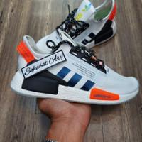 Sepatu Adidas NMD R1 V2 Runner White Solar Red