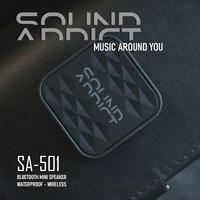 SoundAddict SA-501 Mini Bluetooth Speaker - Black