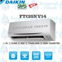 AC SPLIT DAIKIN 1 PK 1PK R32 THAILAND NON INVERTER - FTC25NV14