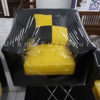 Sofa Minimalis 221 Bumblebee + Bantalan
