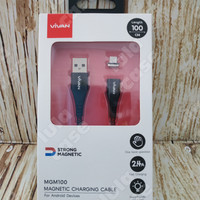 Vivan MGM100 Data Cable Micro USB Magnetic Fast Charging 2.4A