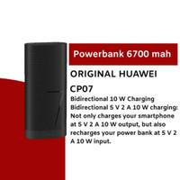 HUAWEI Powerbank 6700 mAh CP07 ORIGINAL Resmi - HITAM