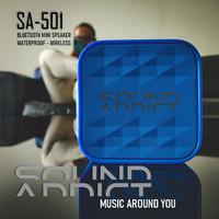 SoundAddict SA-501 Mini Bluetooth Speaker - Blue