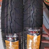 paketan ban shinko E230 100/90-18 dan 120/90-17 estrella