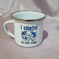 [Mug Enamel] Mug Enamel Motif Pet ARAC