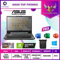ASUS TUF GAMING A15 FX506IU 144Hz Ryzen 7 4800H GTX1660Ti 6GB W10