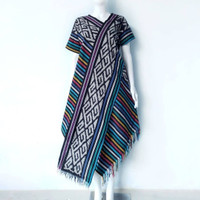 Dress serong selendang baju tenun jepara tunik tenun DTB107