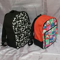 [Backpack] Tas Ransel Bacpack Motif Pet ARAC