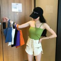 JB Tank Top Basic, Tanktop Wanita Bahan Import Fashion Korea - Hitam