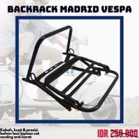 Backrack Vespa Madrid Aksesoris Rak Belakang PX Sprint Excel Premium
