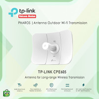 Tplink CPE605 5GHZ 150MBps 23Dbi antenna outdoor wifi transmission