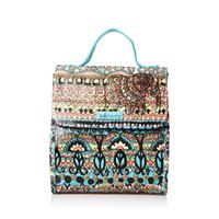 Sakroots Flap Lunch Bag Aqua One World