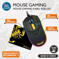 Gaming Mouse Armaggeddon Textron Scorpion 7 Wired Armageddon