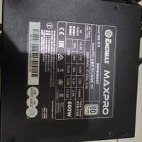 Psu Enermax Pro 600w 80+ bkn antec hexa super flower gamemax aerocool