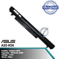 ORI Baterai Asus UltraBook S550 S56 U48 U58 V550 A41-K56