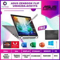 ASUS ZenBook Flip 14 UM462DA AI501T - AMD RYZEN R5 3500U 8GB 512GB