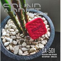 SoundAddict SA-501 Mini Bluetooth Speaker - Red