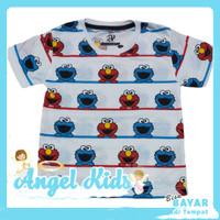 Baju Anak Laki-laki / Kaos Anak Laki-laki ELMO SALUR 1 - 10 Tahun - 1 Tahun