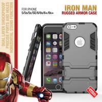 Apple iPhone 5 5s Shockproof Future Armor Hybrid Hard Case & Soft Case