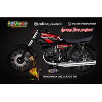 Stiker Striping Yamaha Rx King Variasi Motor Motif Terbaru