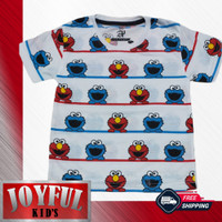 Baju Anak Laki-laki / Kaos Anak Perempuan ELMO 1 - 10 Tahun