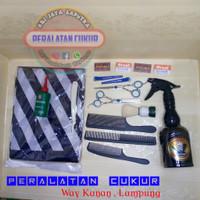 Paket perlengkapan cukur rambut salon barbershop alat cukur rambut